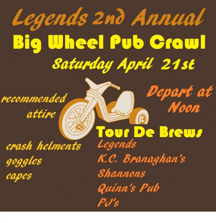 Big Wheel Pub Crawl 2018