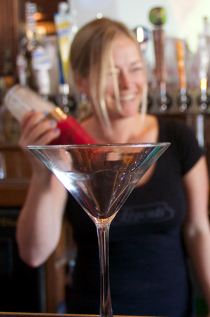"Legends Sports Bar Congratulates Rebecca Hinderer for grabbing ""The Best Bar Tender in Long Beach"" title!"