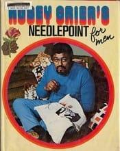 Rosey Grier Needlepoint for men