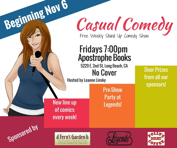 Casual Comedy with Leanne Linsky