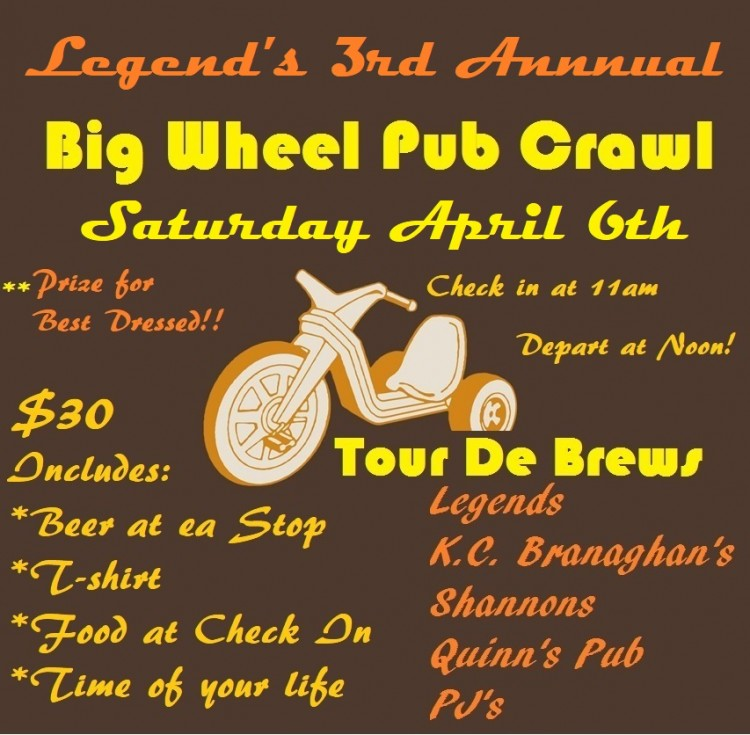 Big Wheel Pub Crawl 2019 v 2